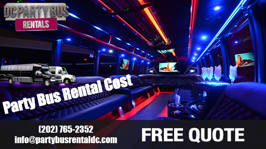 DC Party Bus Rental Cost