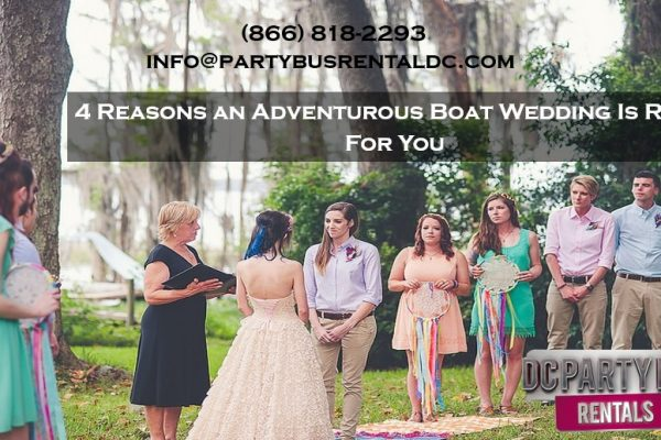 4 Amazing Reasons to Have a Tethered Boat Wedding