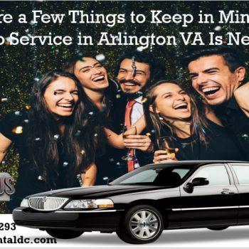 Limo Service in Arlington VA