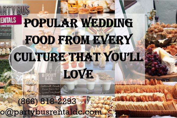 Top Wedding Foods Around the World