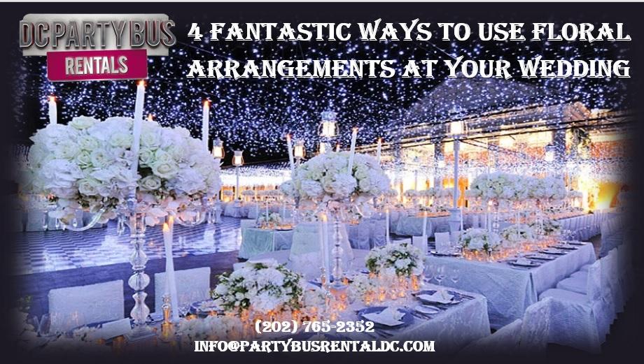4 Unexpected Ways to Use Abundant Floral Wedding Decorations