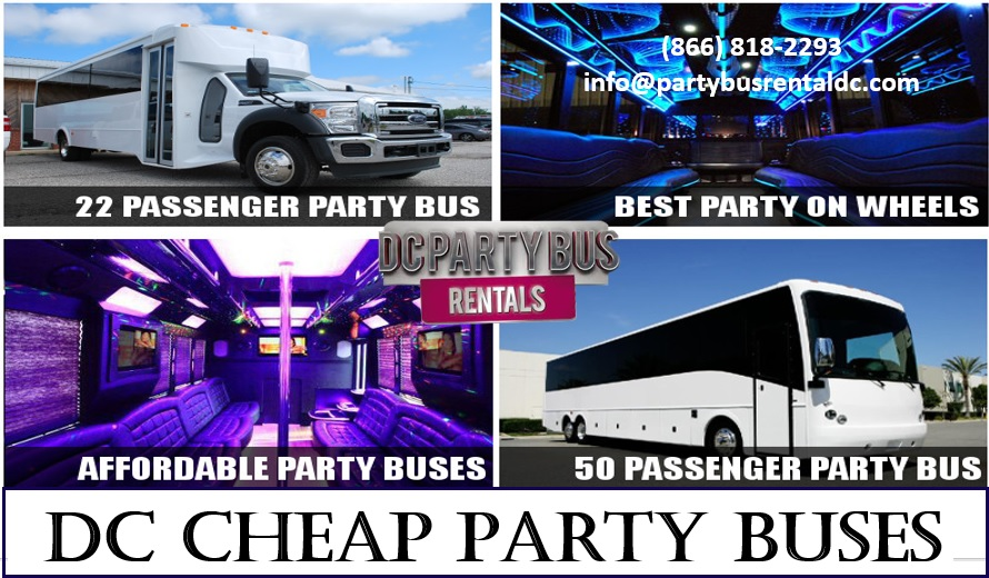 DC Cheap Party Buses