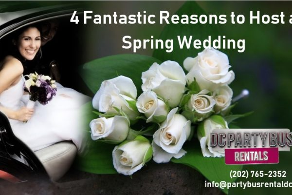 4 Ideas to Consider When Planning a Terrific Spring Wedding