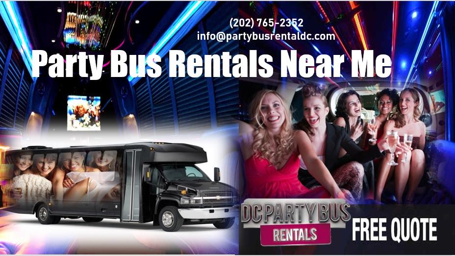 Rent A Party Bus Near Me