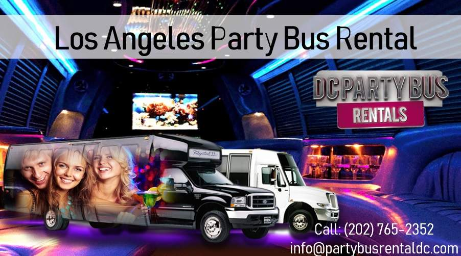 Party Bus Rentals Los Angeles
