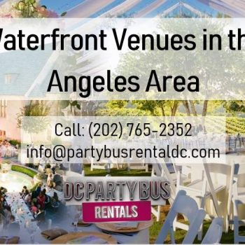 Amazing LA Wedding Venues with a Waterside View