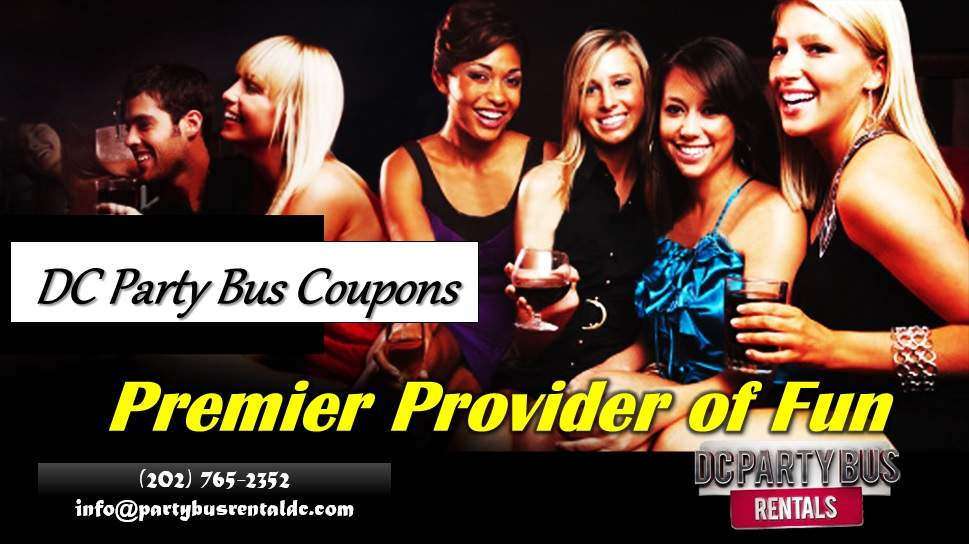 DC Party Bus Coupons