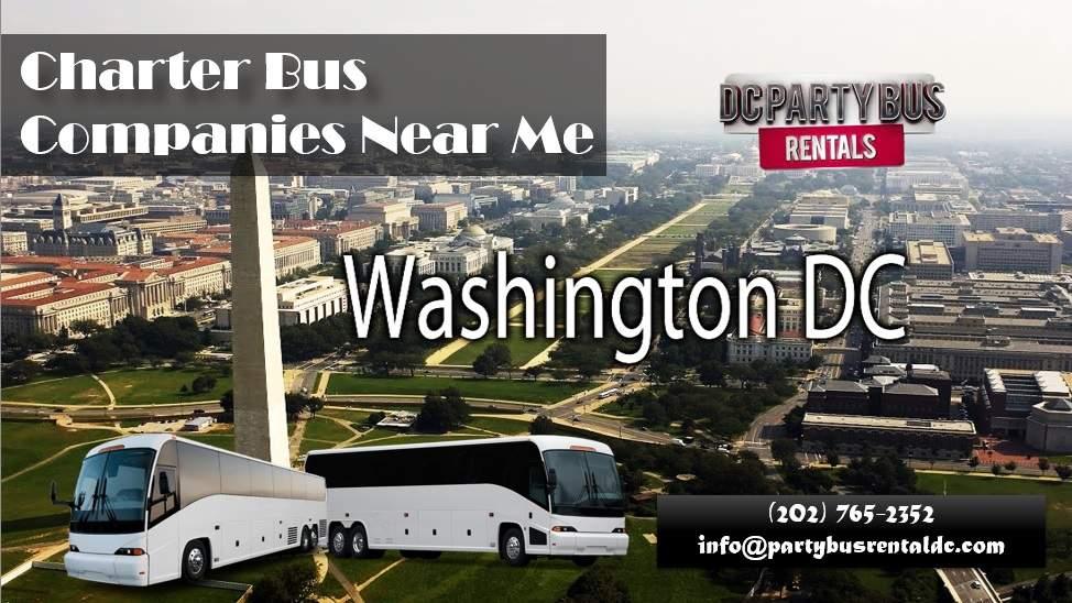 Charter Bus Companies Near Me