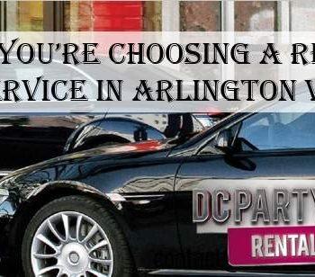 Limo Service Arlington VA