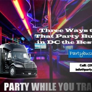 Party Bus Rental in DC