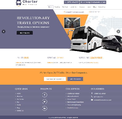 Hire Charter Bus Service