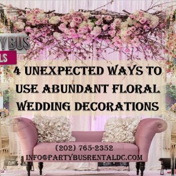 4 Fantastic Ways to Use Floral Arrangements at Your Wedding